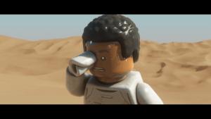 Lego Star Wars: The Force Awakens: Finn ist abgestürzt (Bildrechte: Feral Interactive)