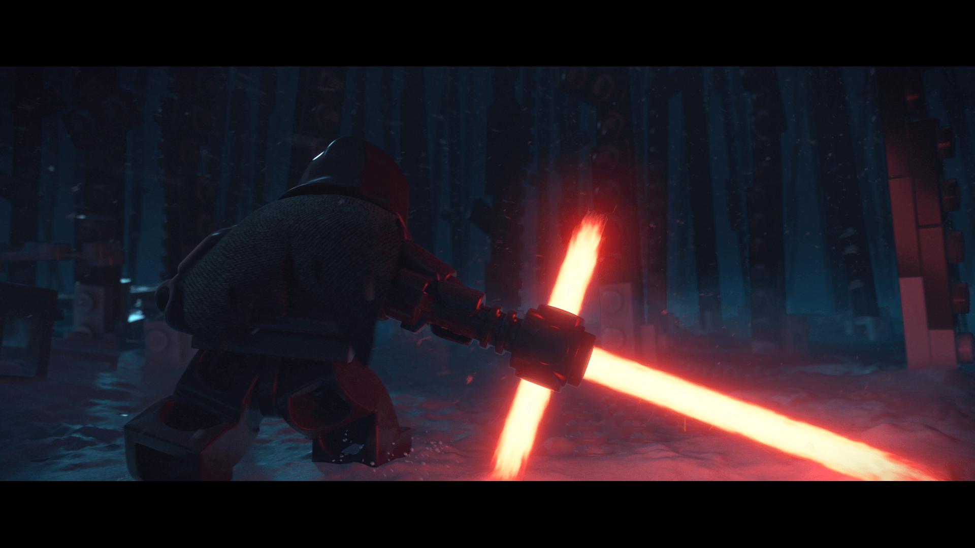 Lego Star Wars: The Force Awakens: Kylo Ren ist voll der Poser (Bildrechte: Feral Interactive)