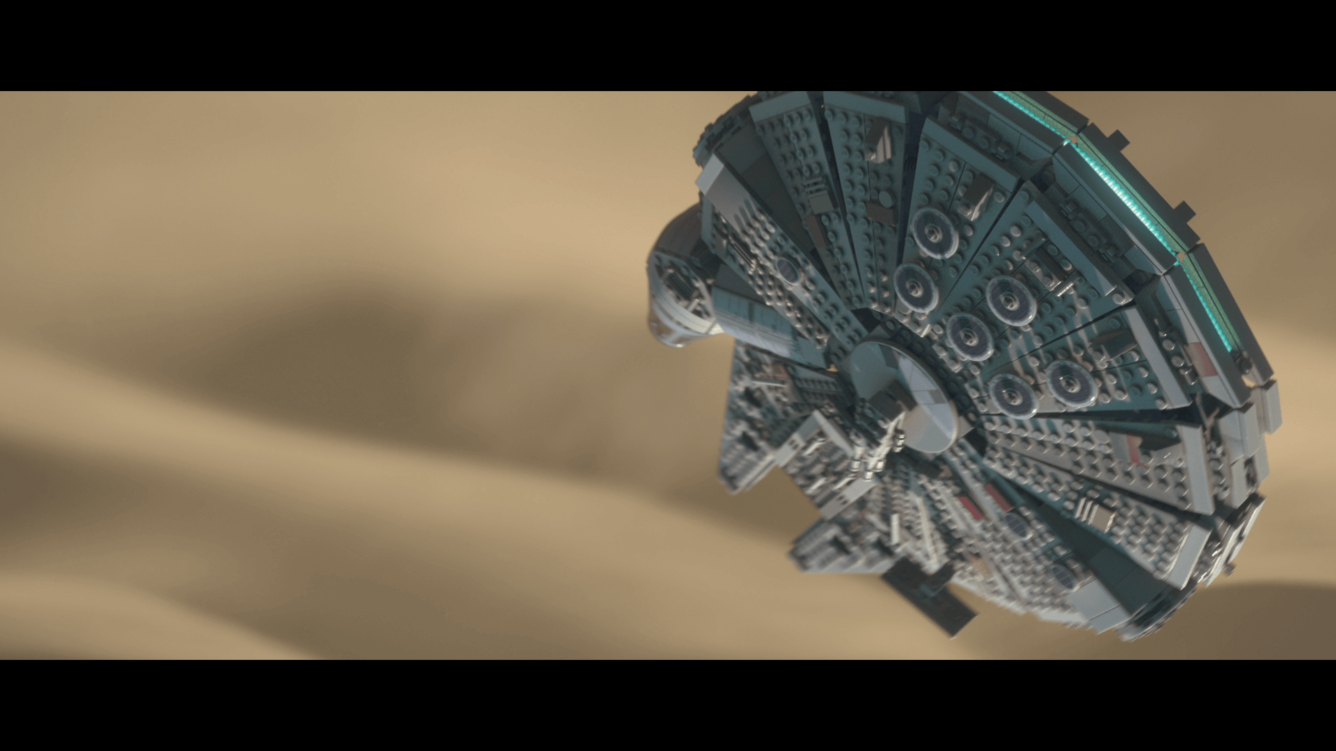 Lego Star Wars: The Force Awakens: Rasender Falke im Sturzflug (Bildrechte: Feral Interactive)