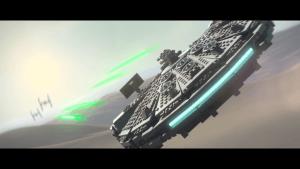 Lego Star Wars: The Force Awakens: Haut den Tie-Fightern auf die Mütze! (Bildrechte: Feral Interactive)