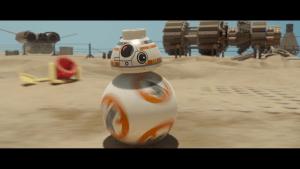 Lego Star Wars: The Force Awakens: Keep rollin' (Bildrechte: Feral Interactive)