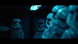 Lego Star Wars: The Force Awakens: Die Sturmtruppler mit neuem Helm-Design (Bildrechte: Feral Interactive)