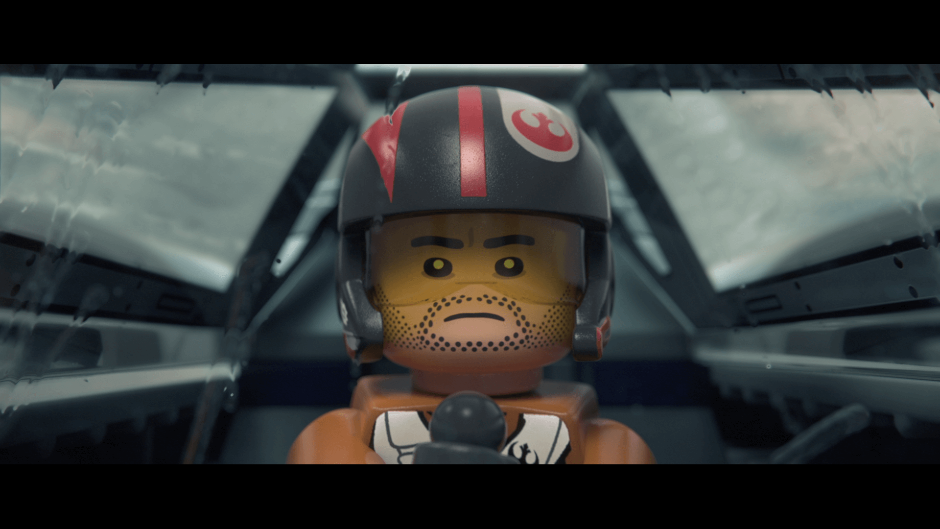 Lego Star Wars: The Force Awakens: Poe Dameron, zweitbester Raumpilot (Bildrechte: Feral Interactive)