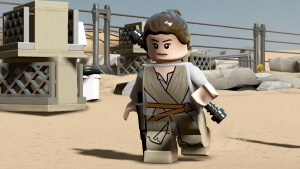 Die Heldin aus Lego Star Wars: The Force Awakens (Bildrechte: Feral interactive)