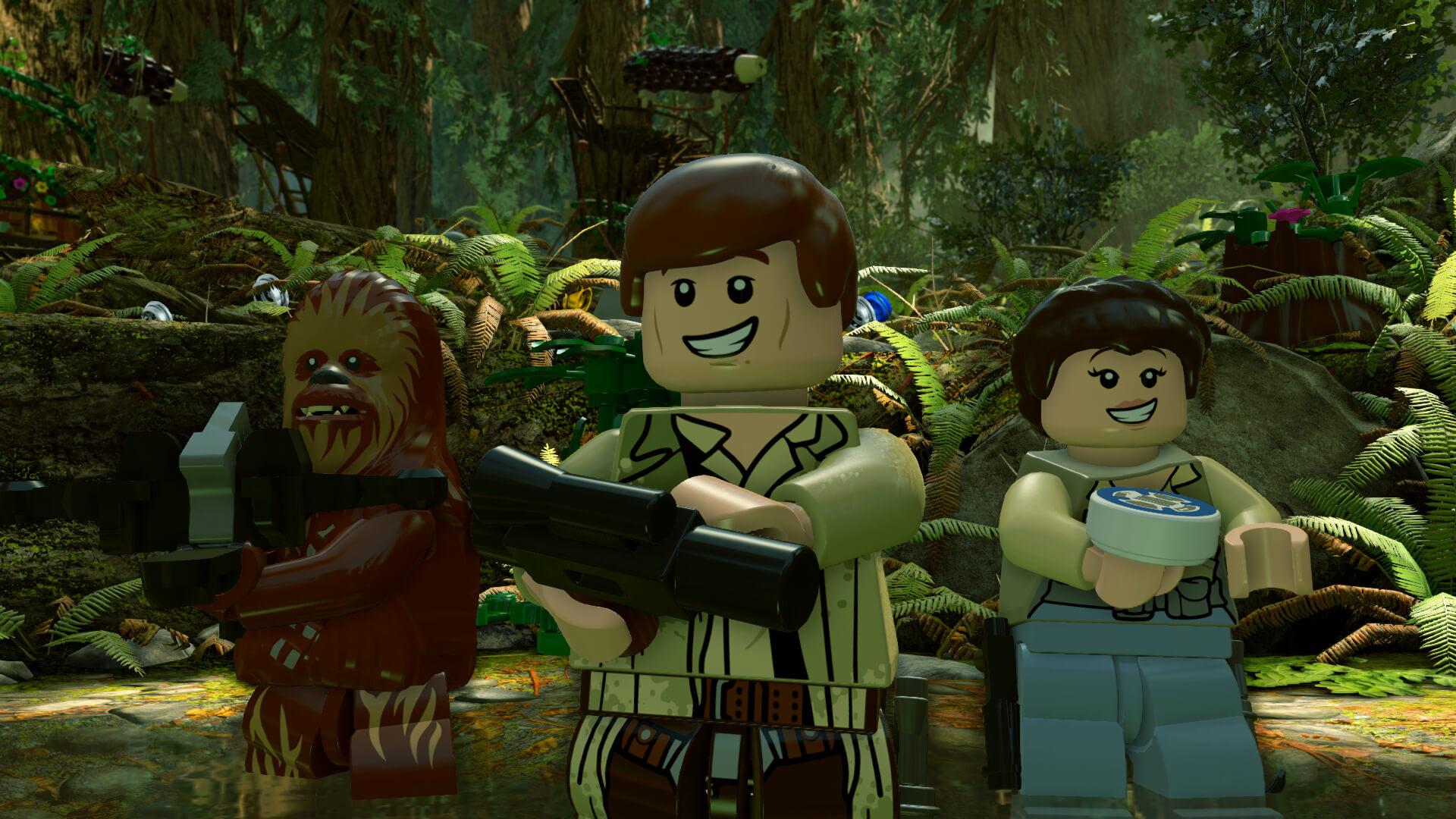 Lego Star Wars: The Force Awakens: Die Schlacht von Endor (Bildrechte: Feral Interactive)