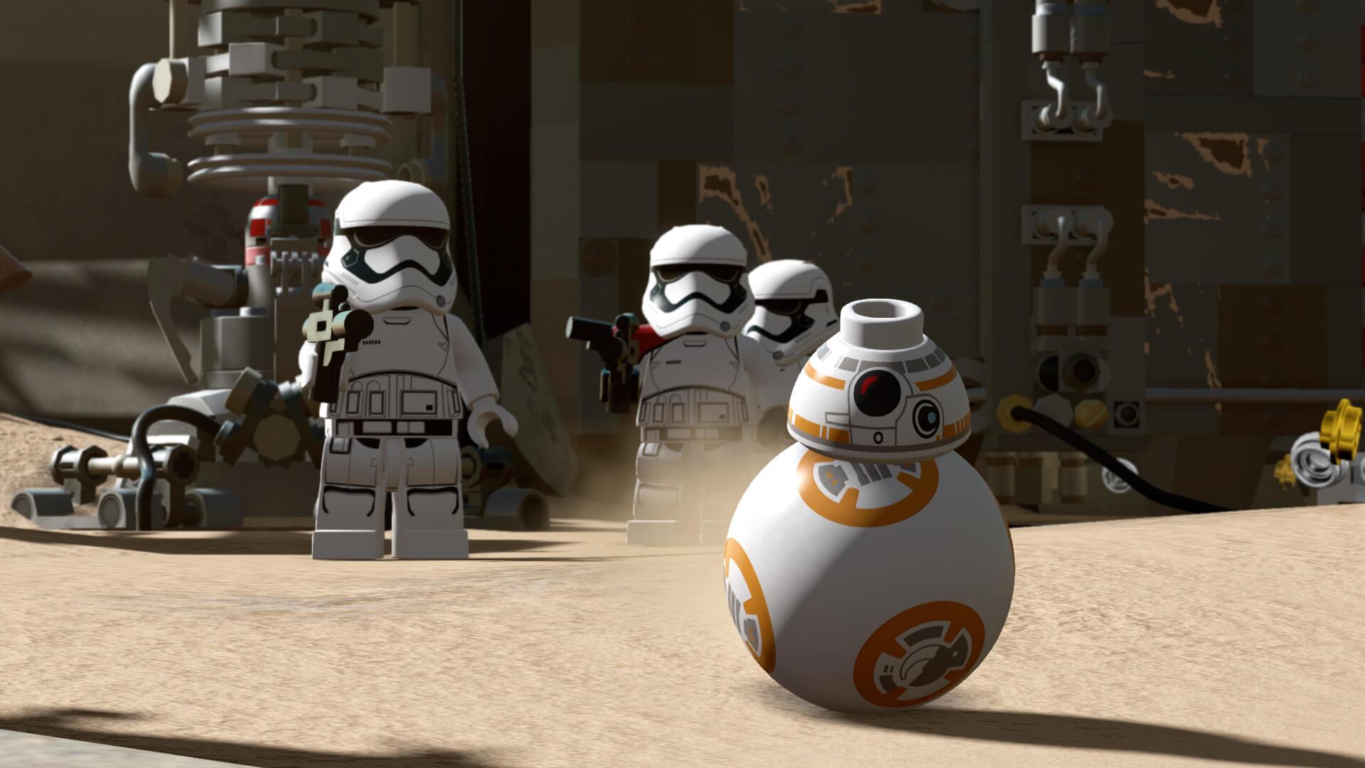 Lego Star Wars: The Force Awakens: Oh, oh, Sturmtruppler! (Bildrechte: Feral Interactive)