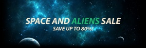 Space and Alien Sale beim MacGameStore (Bildrechte: MacGameStore)