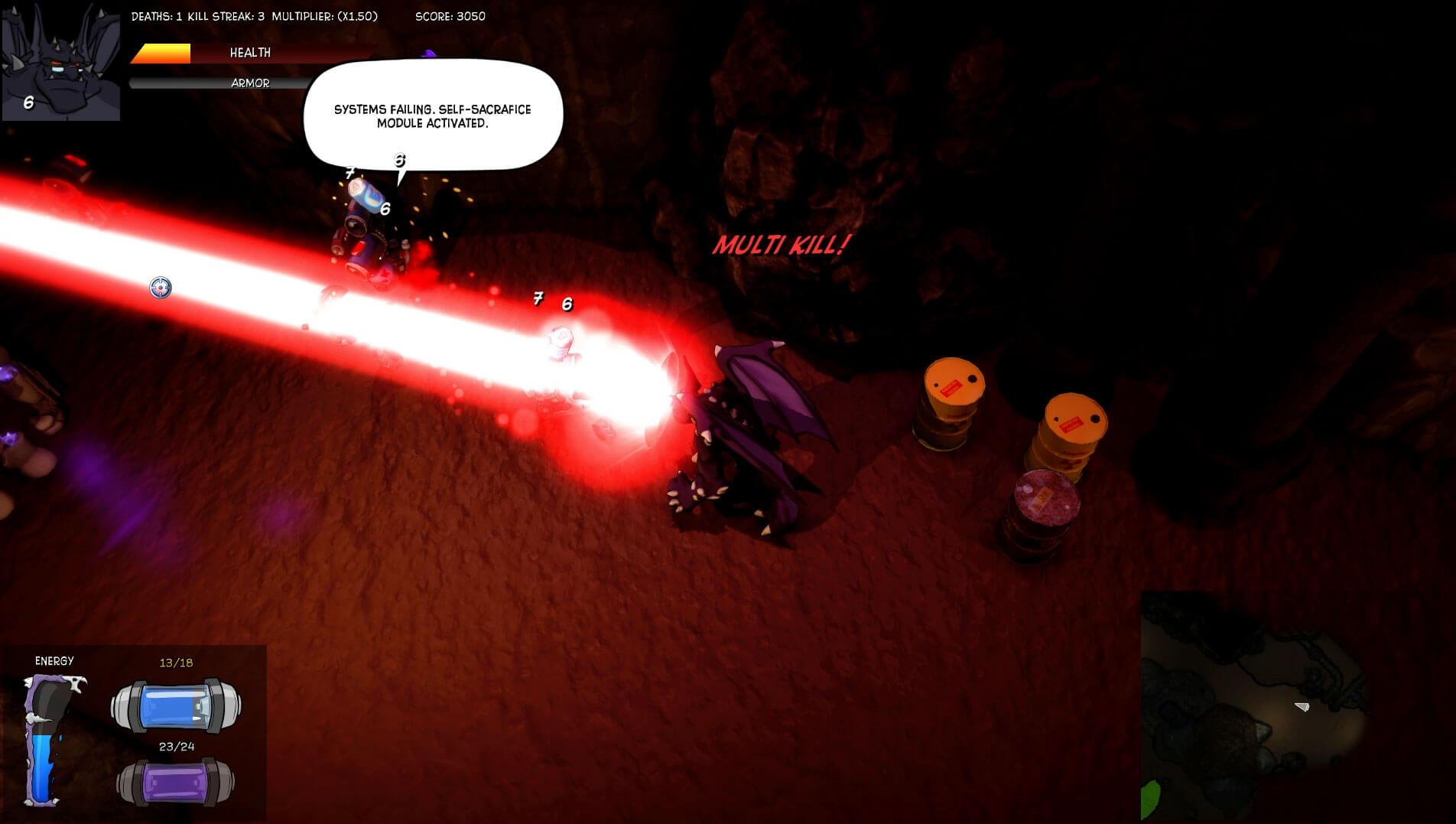 Im Dämonen Modus - Bildrechte bei Darkmire Entertainment