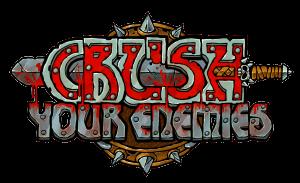 Logo von Crush Your Enemies (Bildrechte: Gambitious)