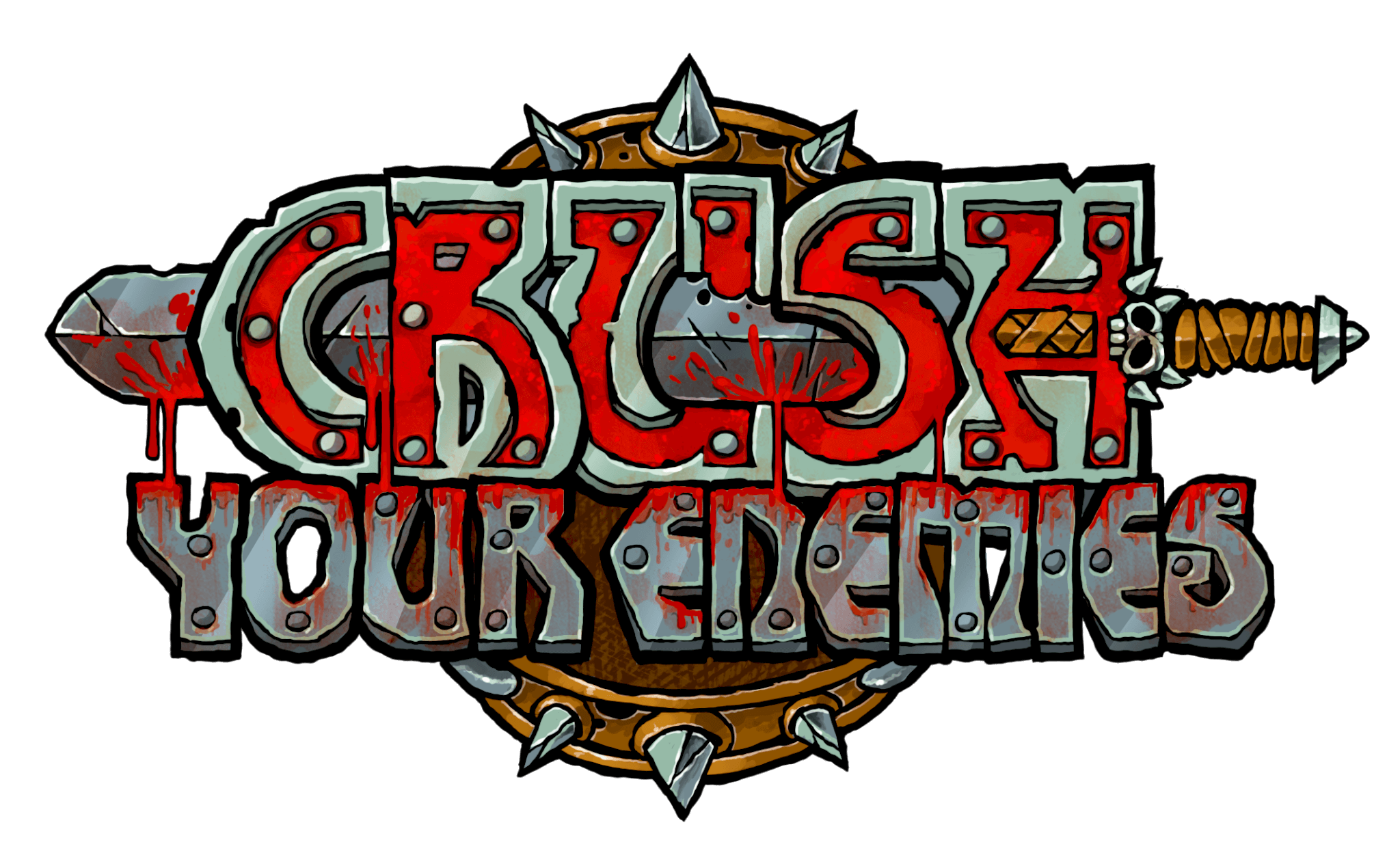 Logo von Crush Your Enemies (Bildrechte: Gambitious)