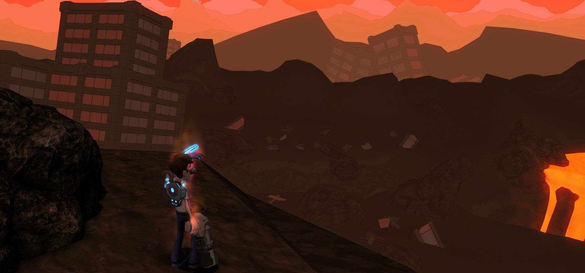 Höllischer Ausblick - Bildrechte bei Darkmire Entertainment