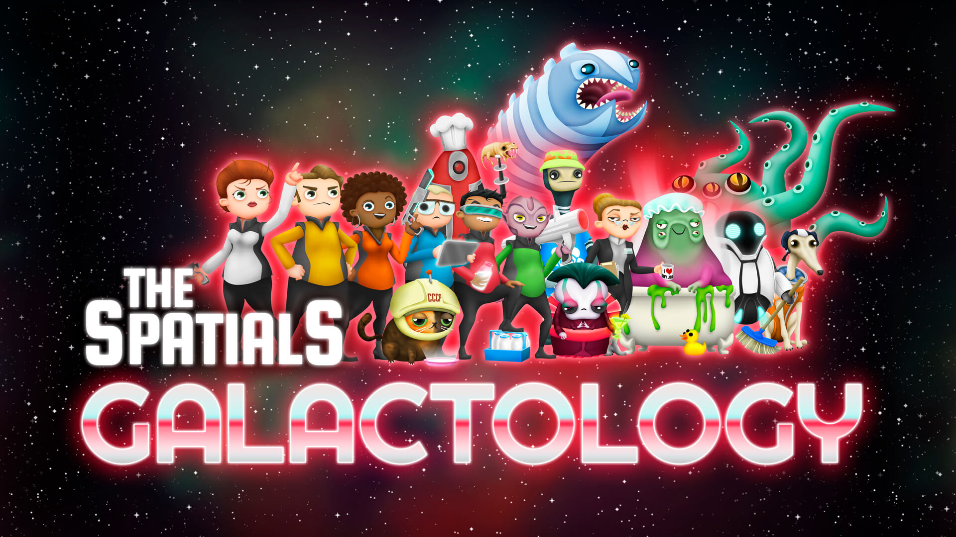 The Spatials: Galactology (Bildrechte: Weird and Wry)