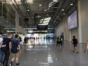 Gamescom 2016: Morgens am Fachbesuchertag sind die Hallen noch leer