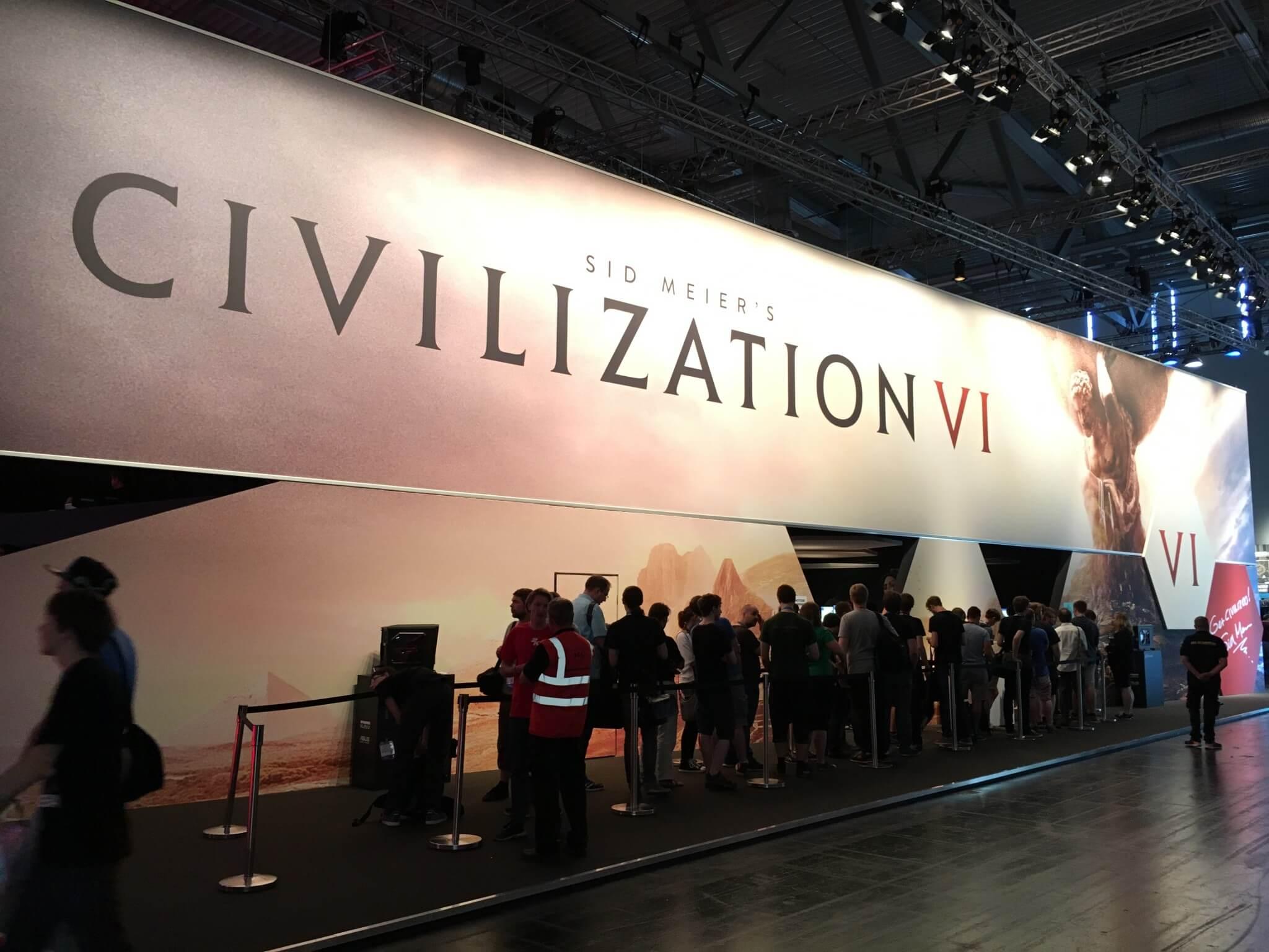 Gamescom 2016: Civilization VI gehört zu den großen Namen