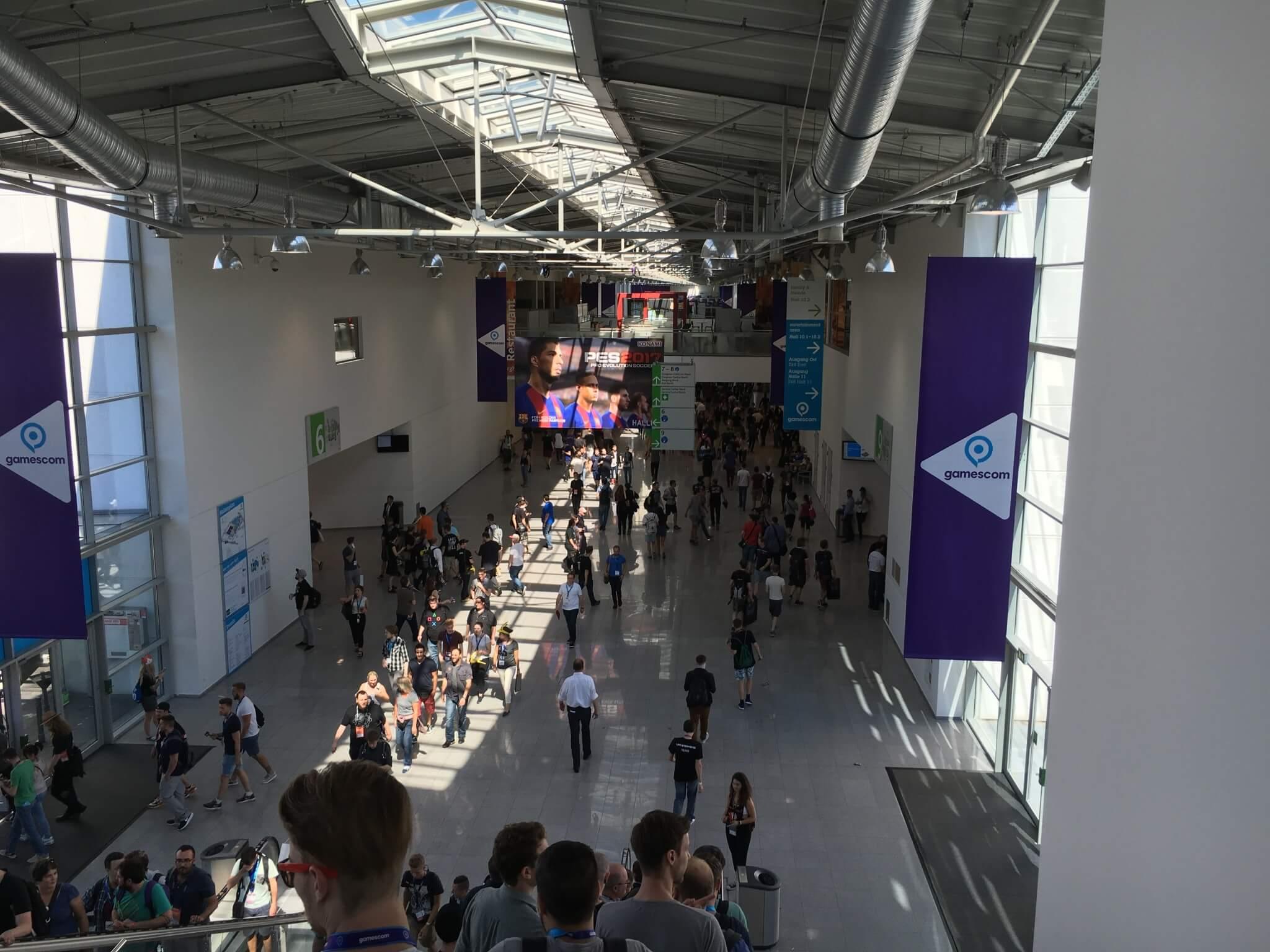 Gamescom 2016: Am Fachbesuchertag war noch Platz