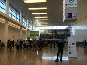 Gamescom 2016: Kaum war man durch die Sicherheitskontrolle, musste man wieder anstehen