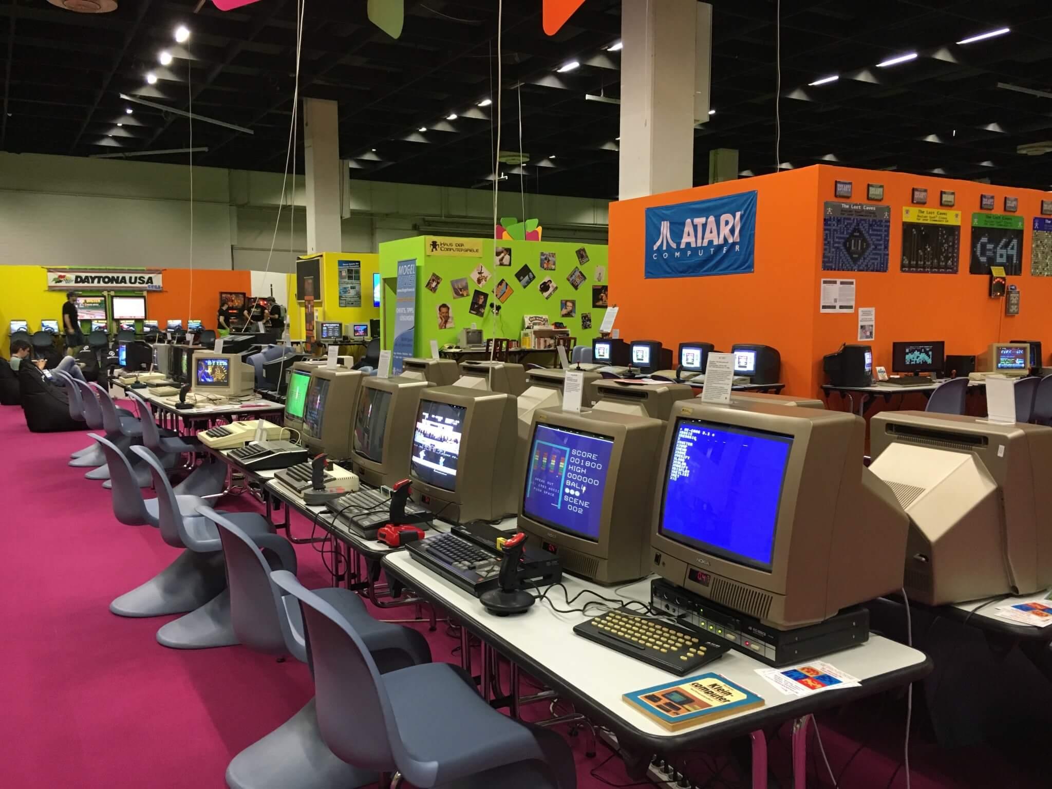Gamescom 2016: Eine Spielwiese für Retro-Fans