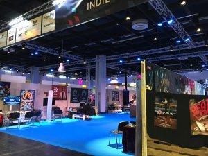 Gamescom 2016 – die riesige Indie Arena Booth