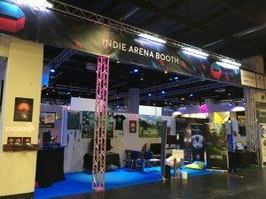 Gamescom 2016: zu früher Stunde waren wegen der berüchtigten Parties am Vorabend noch einige Messestände verwaist