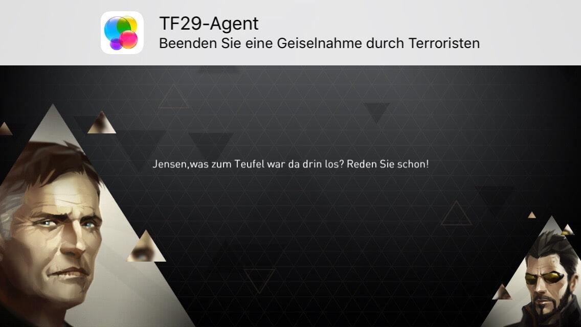 Level geschafft (Deus Ex Go)