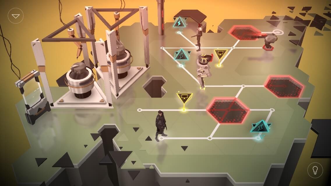 Hier hilft nur die Fernsteuerung der Computerterminal (Deus Ex Go)