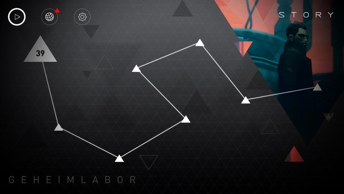 Deus Ex Go bietet viel Rätselstoff in vielen Leveln
