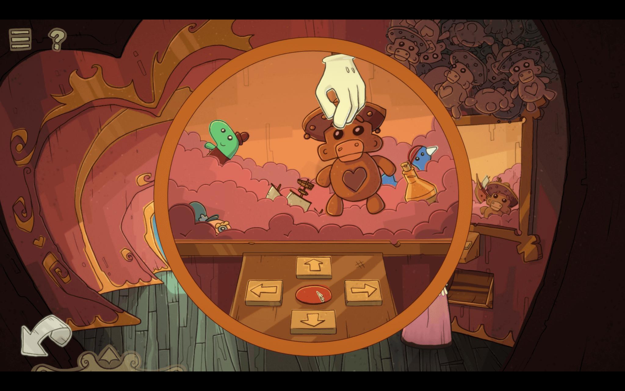 Nelly Cootalot: The Fowl Fleet – eines der Minispielchen im Adventure