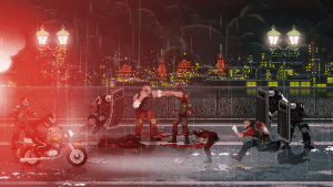 Mother Russia Bleeds: Immer in die Fresse rein (Bildrechte: Devolver Digital)