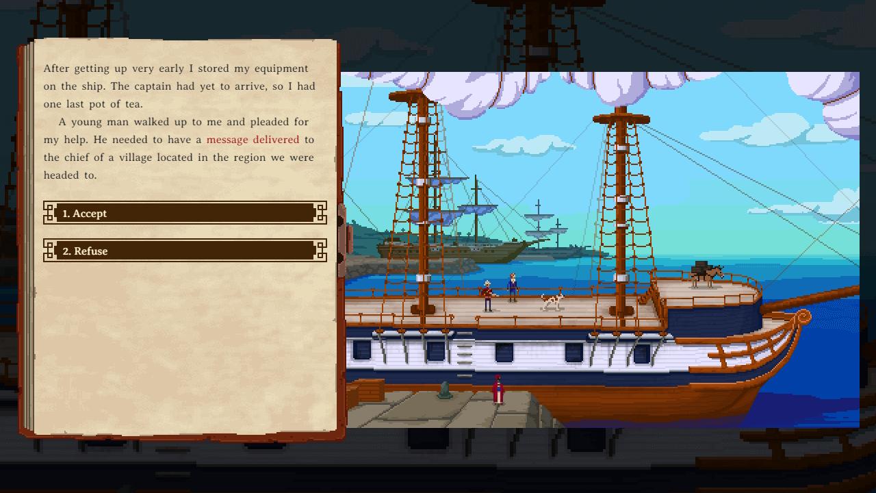 Curious Expedition: Am Anfang steht das Schiff (Bildrechte: Mensch-Maschine)