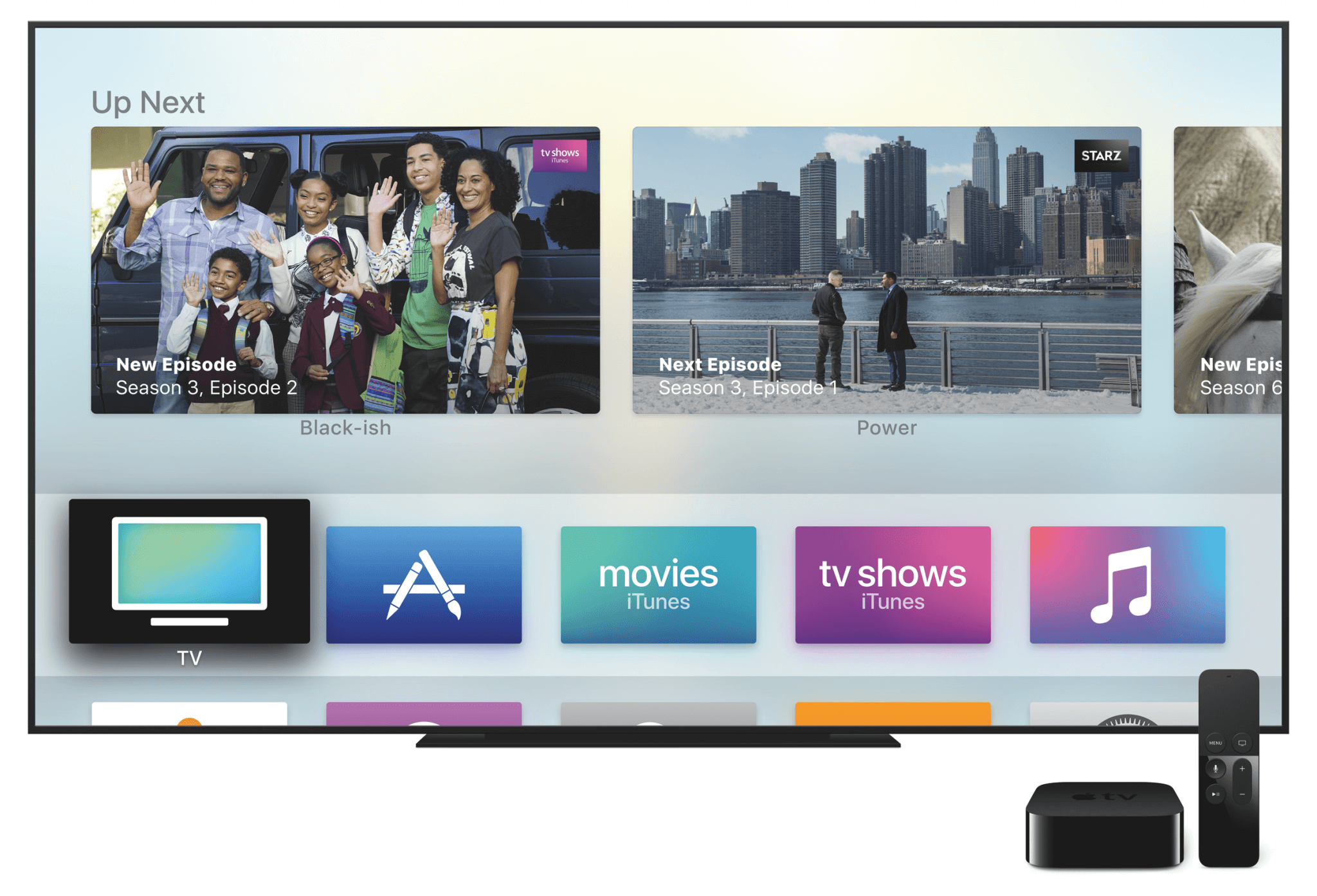 TV-App auf dem Apple TV (Bildrechte: Apple)