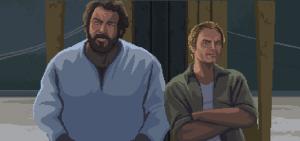 Bud Spencer und Terence Hill als Pixel-Helden (Bildrechte: Trinity Team)