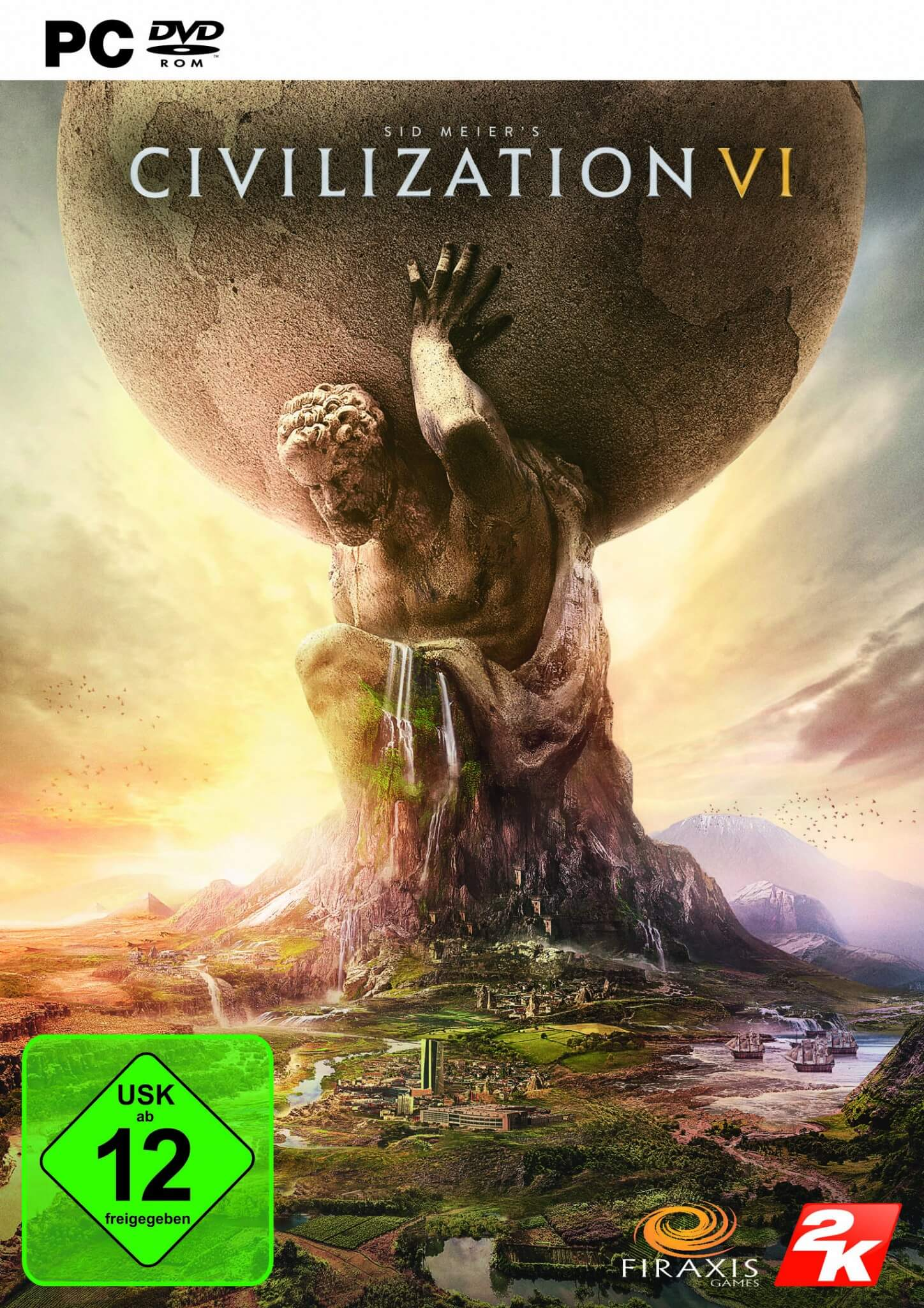 Cover von Civilization VI (Bildrechte: 2K Games)
