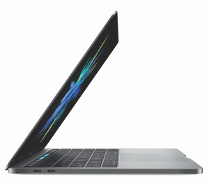 MacBook Pro 2016 mit 13-Zoll-Display und Touch Bar in Space Grau (Bildrechte: Apple)