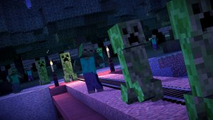 Minecraft: Story Mode: Creepers (Bildrechte: Telltale Games)