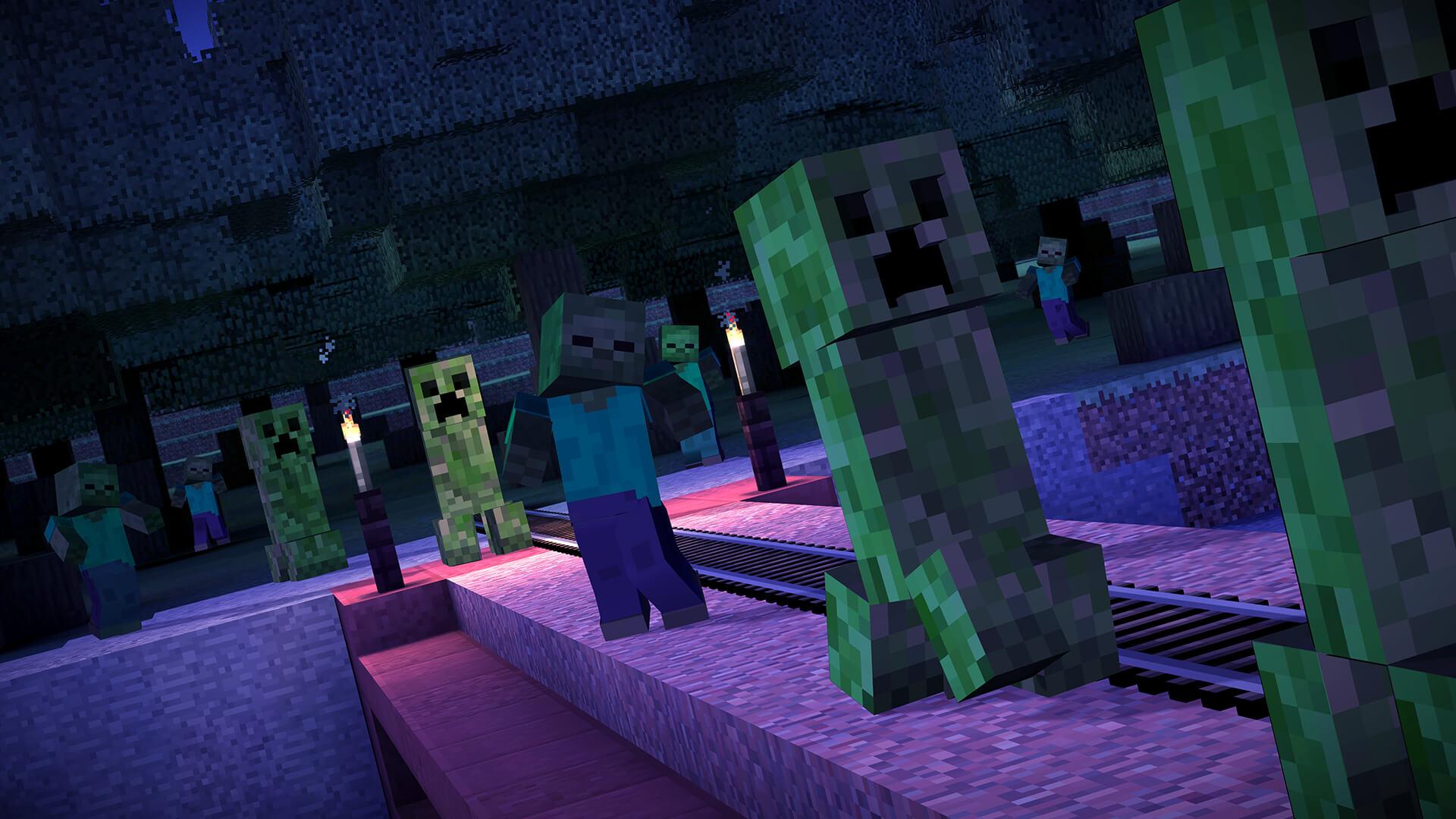 Minecraft: Story Mode: Creepers (Bildrechte: Telltale Games)