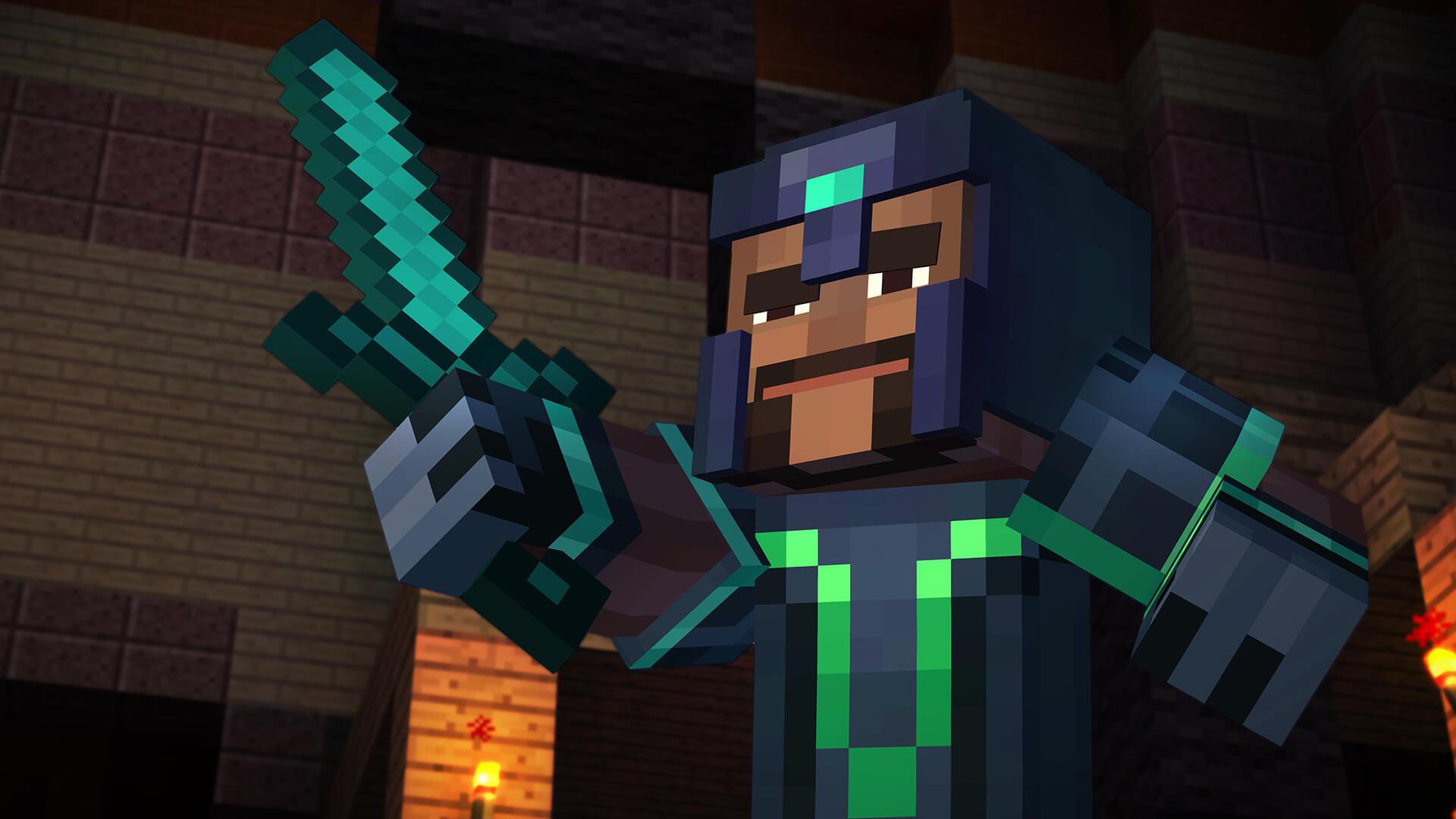 Minecraft: Story Mode: Gabriel (Bildrechte: Telltale Games)