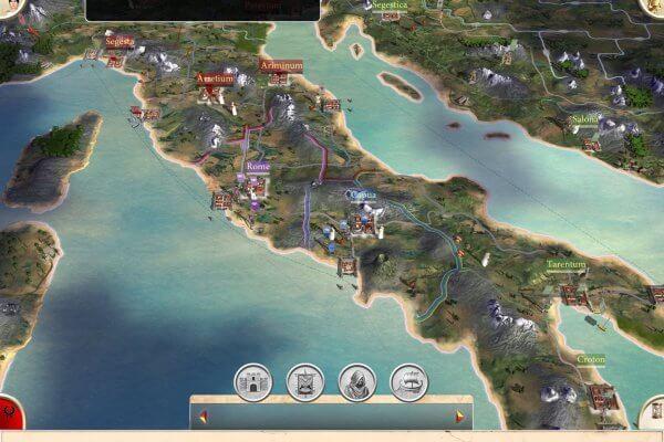 Rome: Total War für iPad (Bildrechte: Feral Interactive)