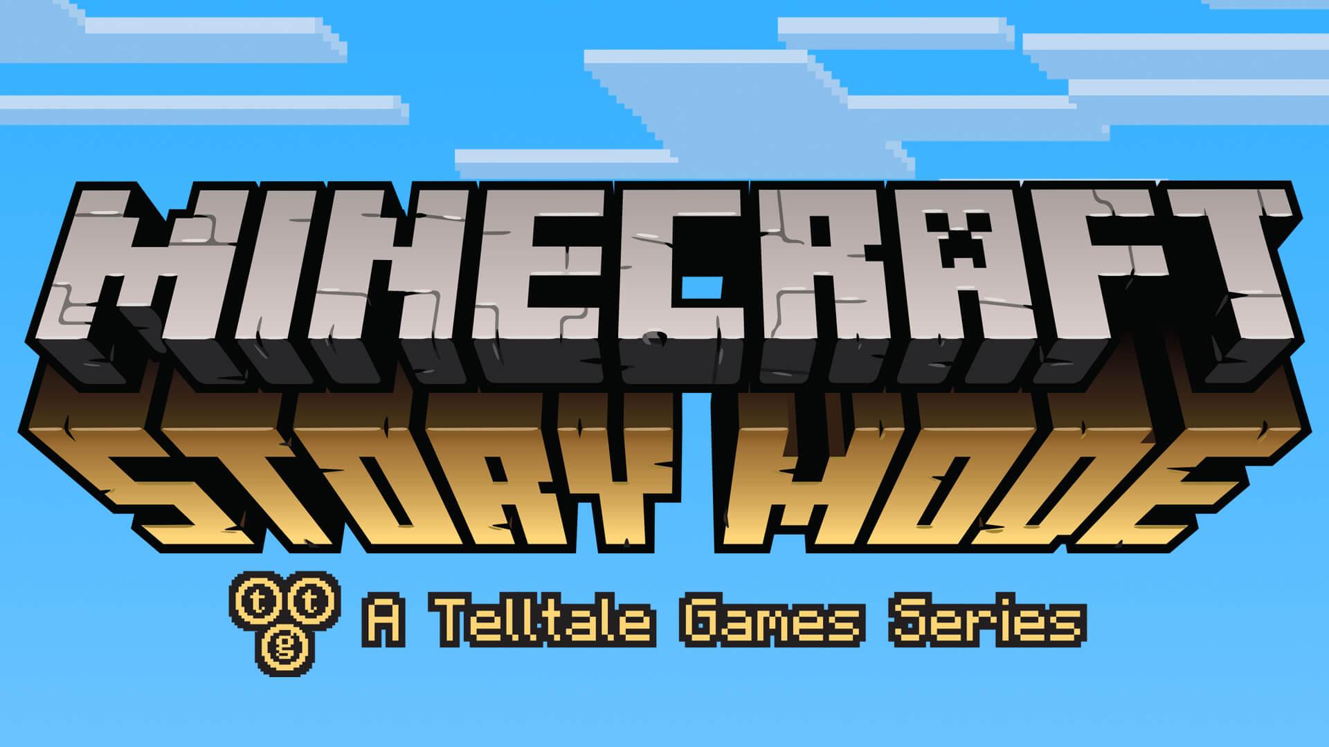 Logo von Minecraft: Story Mode (Bildrechte: Telltale Games)