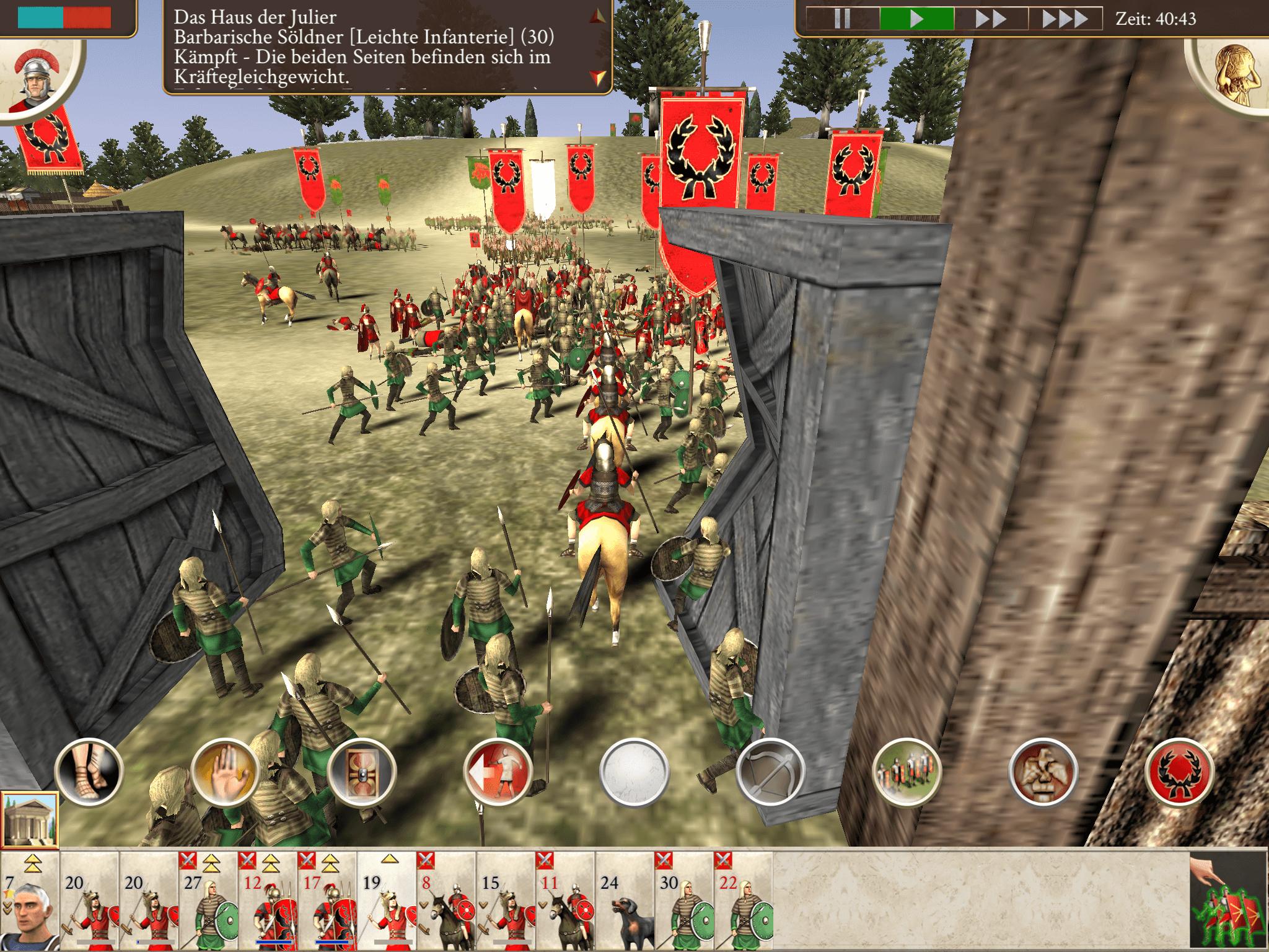 Rome Total War Kampfmodus