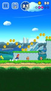 Super Mario Run: Pilze pflastern seinen Weg (Bildrechte: Nintendo)