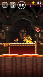 Super Mario Run: Gleich geht es Bowser an den Kragen (Bildrechte: Nintendo)