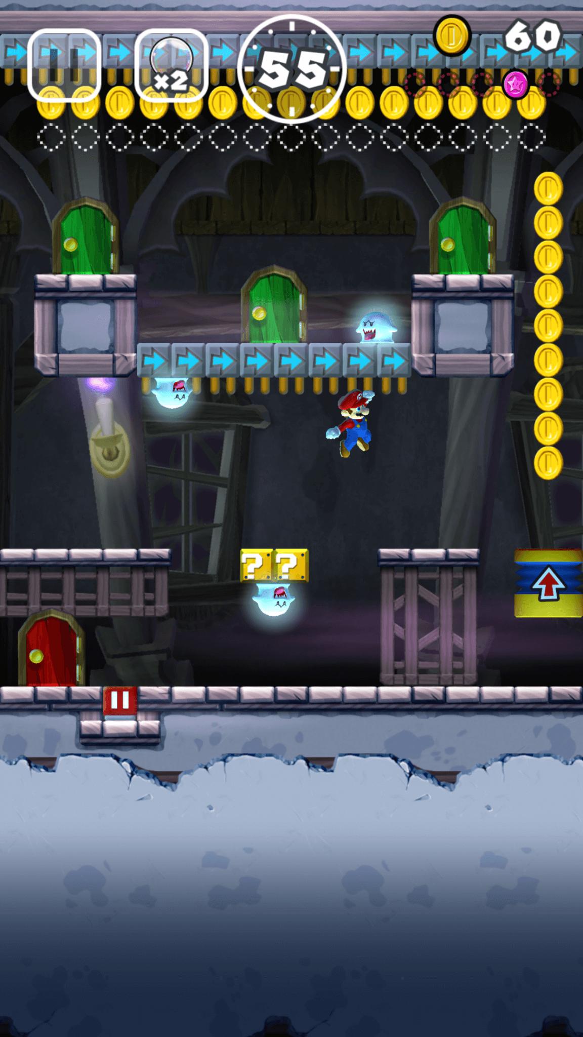 Super Mario Run: Geister Im Spukschloss (Bildrechte: Nintendo (Bildrechte: Nintendo)