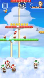 Super Mario Run: Es war einmal in einer weit, weit entfernten Wolke… (Bildrechte: Nintendo)