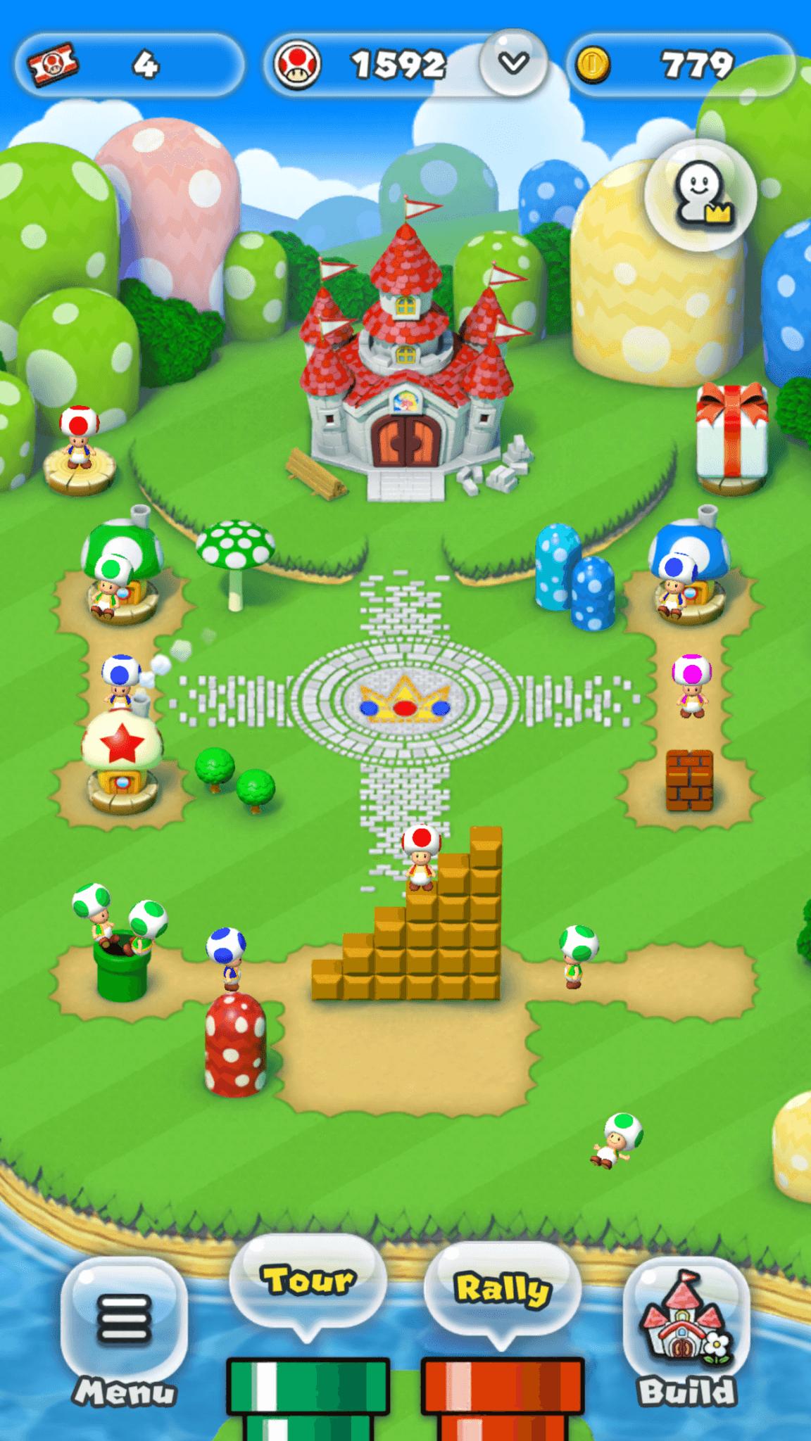 Super Mario Run: das eigene Königreich (Bildrechte: Nintendo)