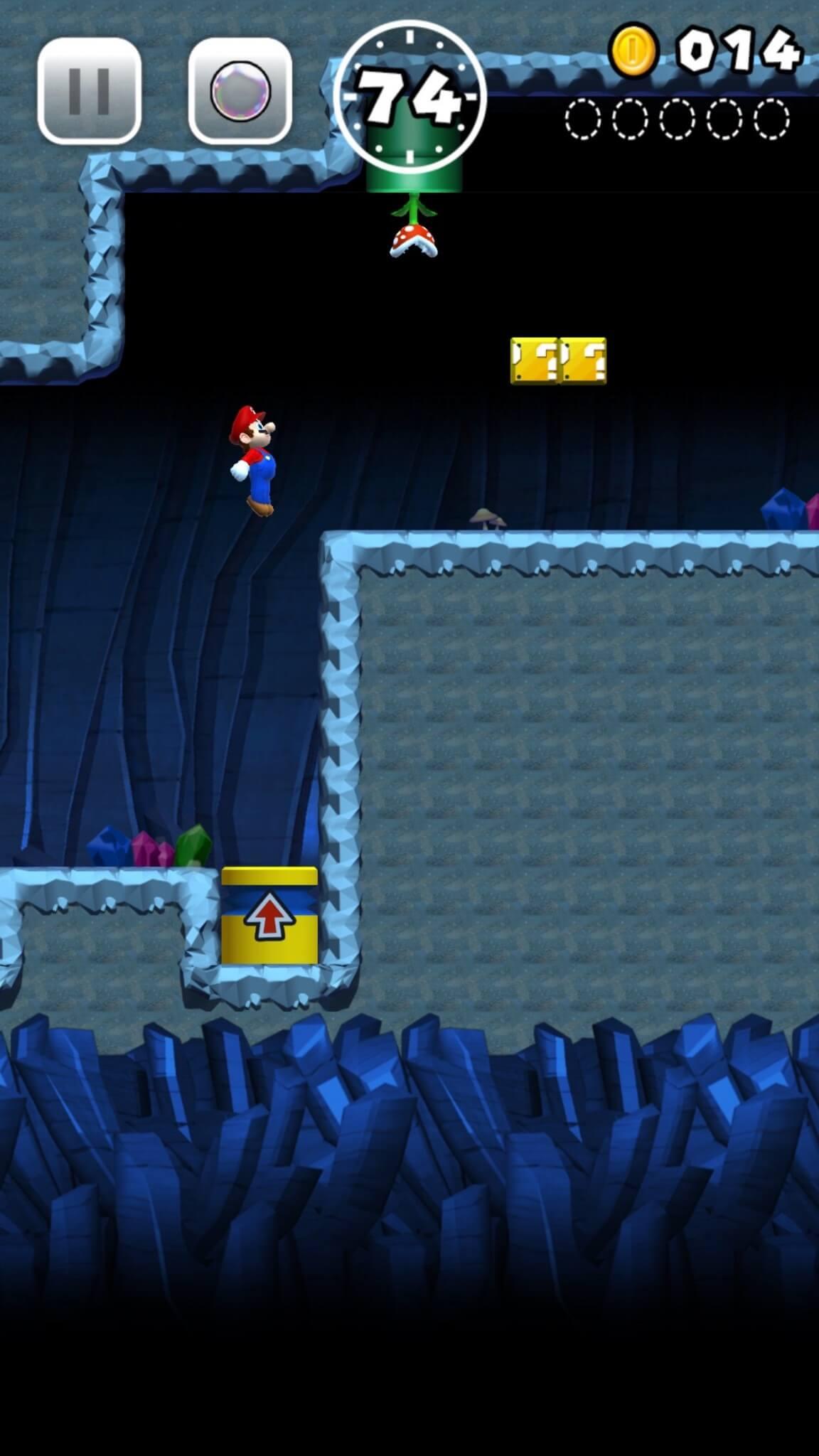 Super Mario Run: …und hüpf! ( Bildrechte: Nintendo)