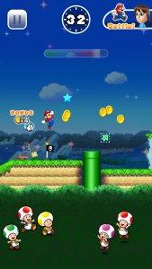 Super Mario Run: Mario vergrößert seine Münzsammlung (Bildrechte: Nintendo