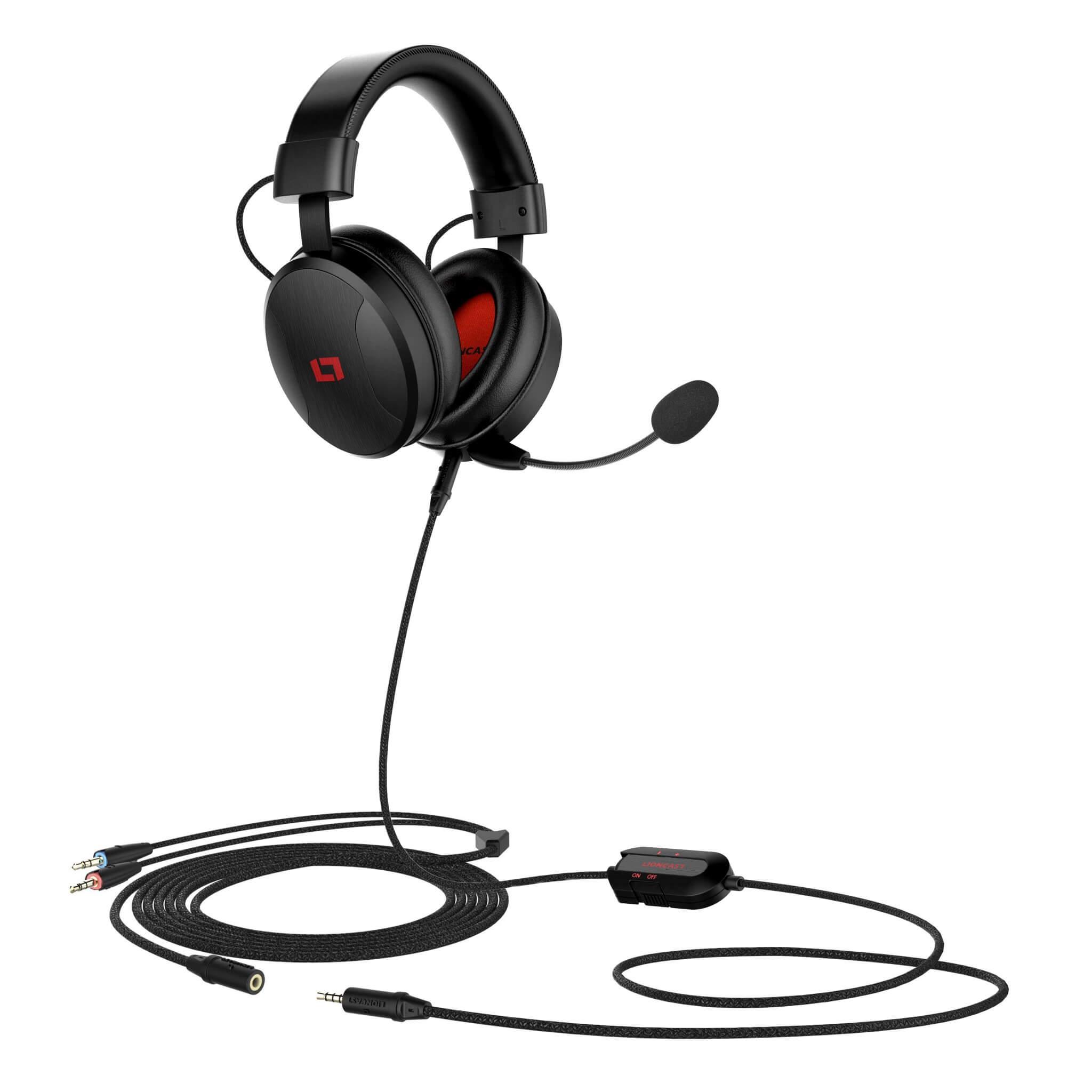 LX50 Gaming Headset (Bildrechte: Lioncast)