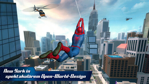 The Amazing Spider-Man 2, iPhone, iPad, Games, Spiele