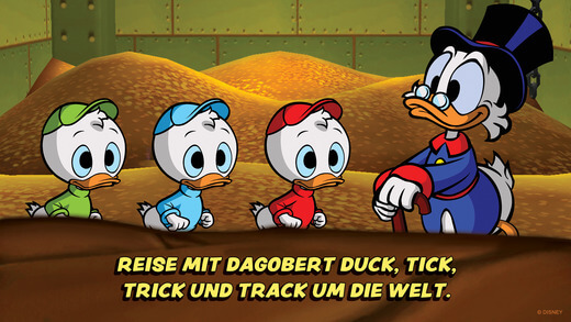 Duck Tales: Remastered, Walt Disney, iOS, iPhone, iPad, Spiele