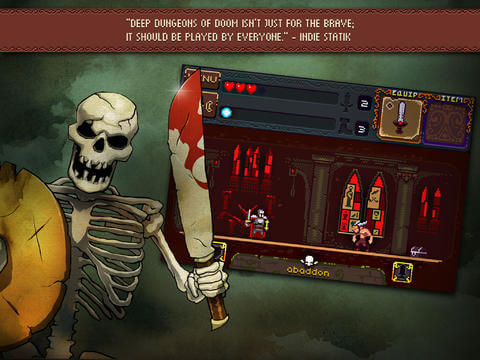 Deep Dungeons of Doom iOS